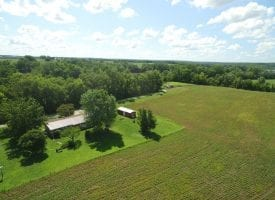 Home with 10 acres and Des Moines River Frontage