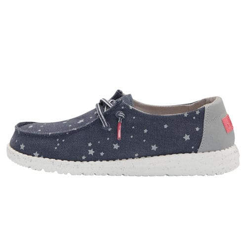 HEY DUDE YOUTH WENDY CAT EYE NAVY LEFT VIEW