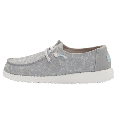 HEY DUDE YOUTH WENDY CAT EYE GREY LEFT VIEW