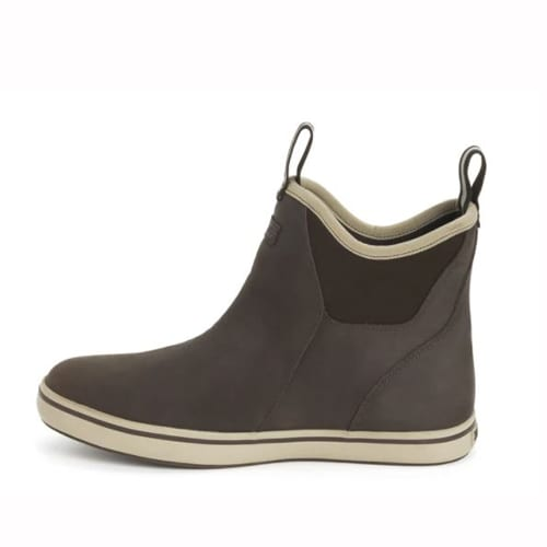 XTRATUF LEATHER ANKLE BOOT BROWN LEFT VIEW