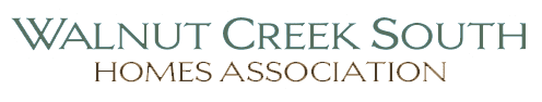 Walnut Creek South Homes Association